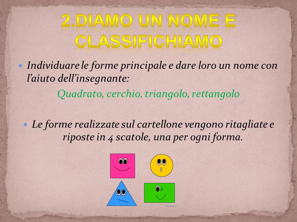 2.DIAMO UN NOME E CLASSIFICHIAMO