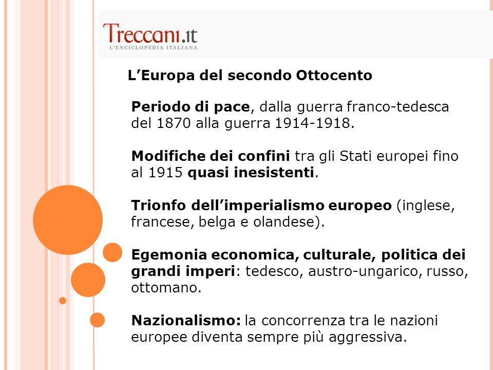 L'Europa del secondo Ottocento