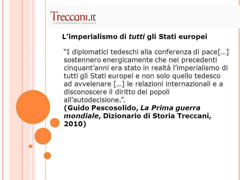 L'imperialismo di tutti gli Stati europei