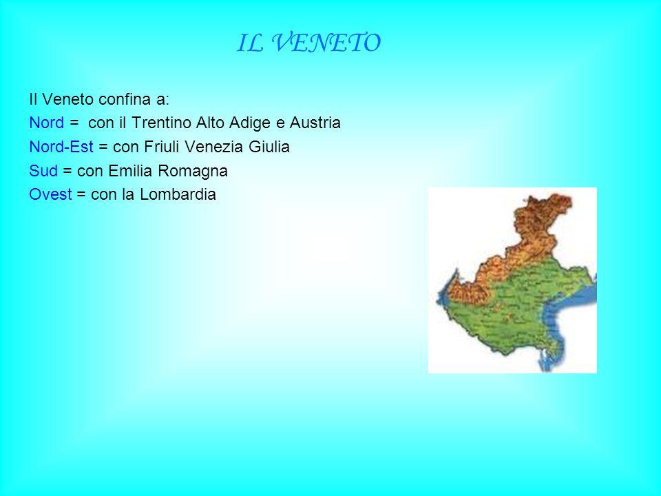 Nord = con il Trentino Alto Adige e Austria