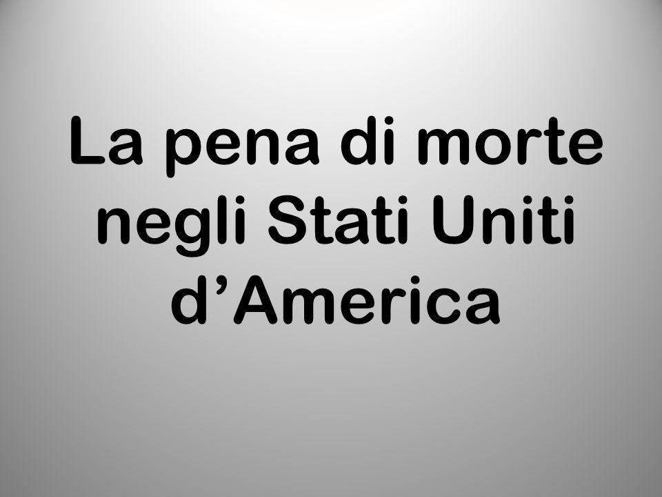 La pena di morte negli Stati Uniti d'America