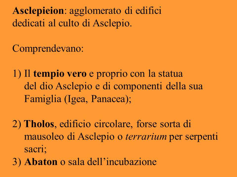 Asclepieion: agglomerato di edifici