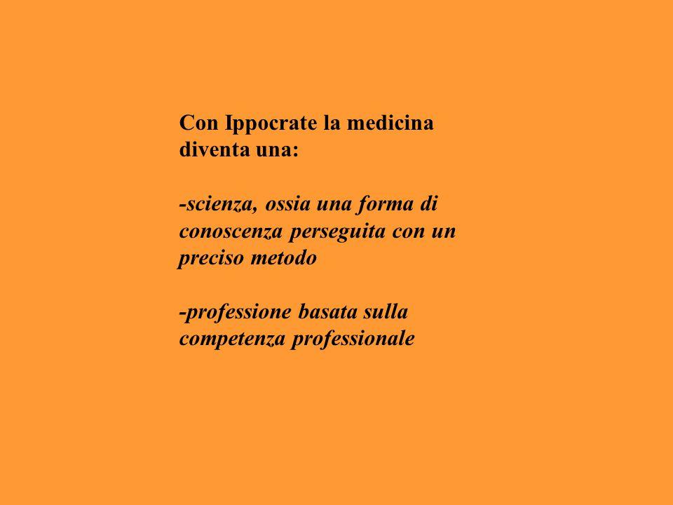 Con Ippocrate la medicina