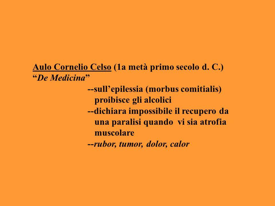 Aulo Cornelio Celso (1a metà primo secolo d. C.)