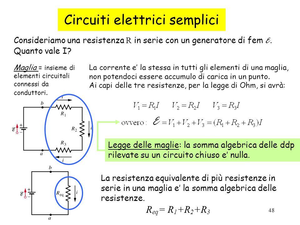 Circuiti elettrici semplici