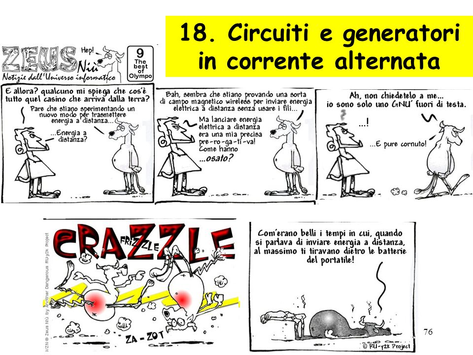 18. Circuiti e generatori in corrente alternata