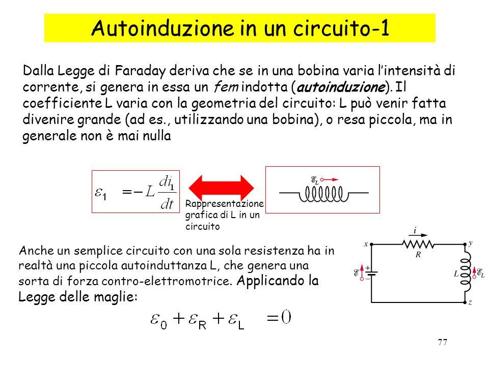 Autoinduzione in un circuito-1