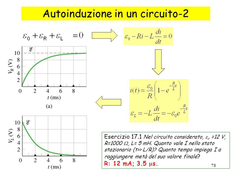 Autoinduzione in un circuito-2