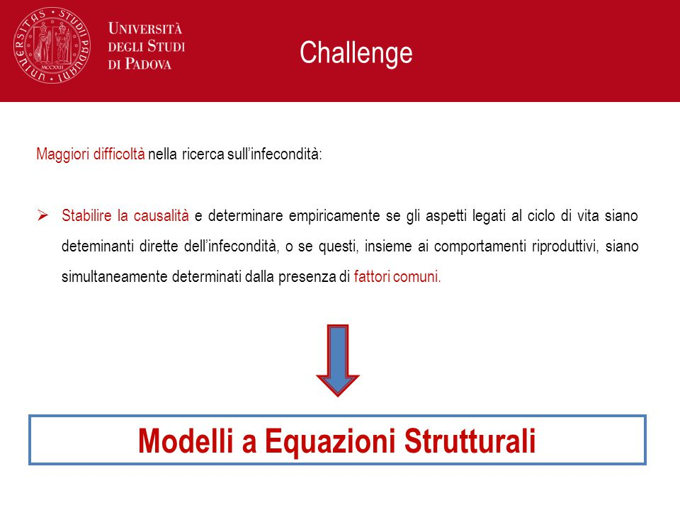 Modelli a Equazioni Strutturali