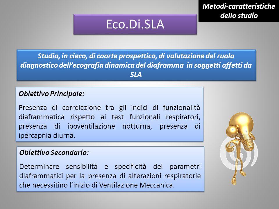Metodi-caratteristiche dello studio
