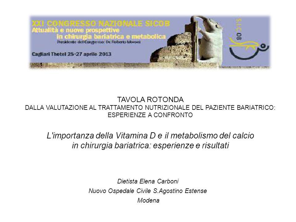 L importanza della Vitamina D e il metabolismo del calcio
