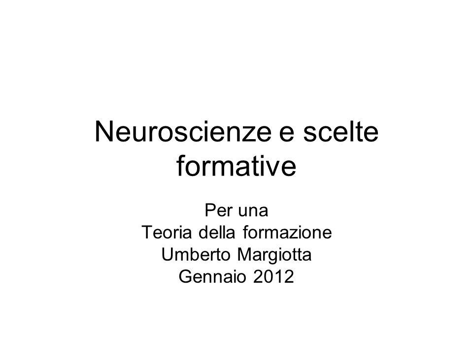 Neuroscienze e scelte formative