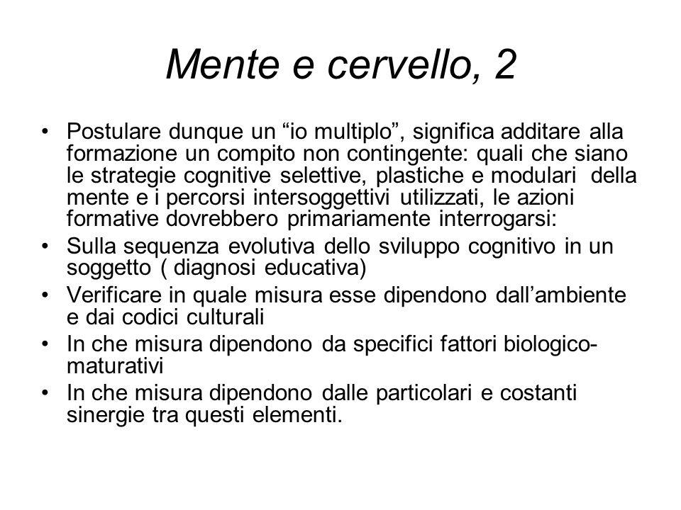 Mente e cervello, 2