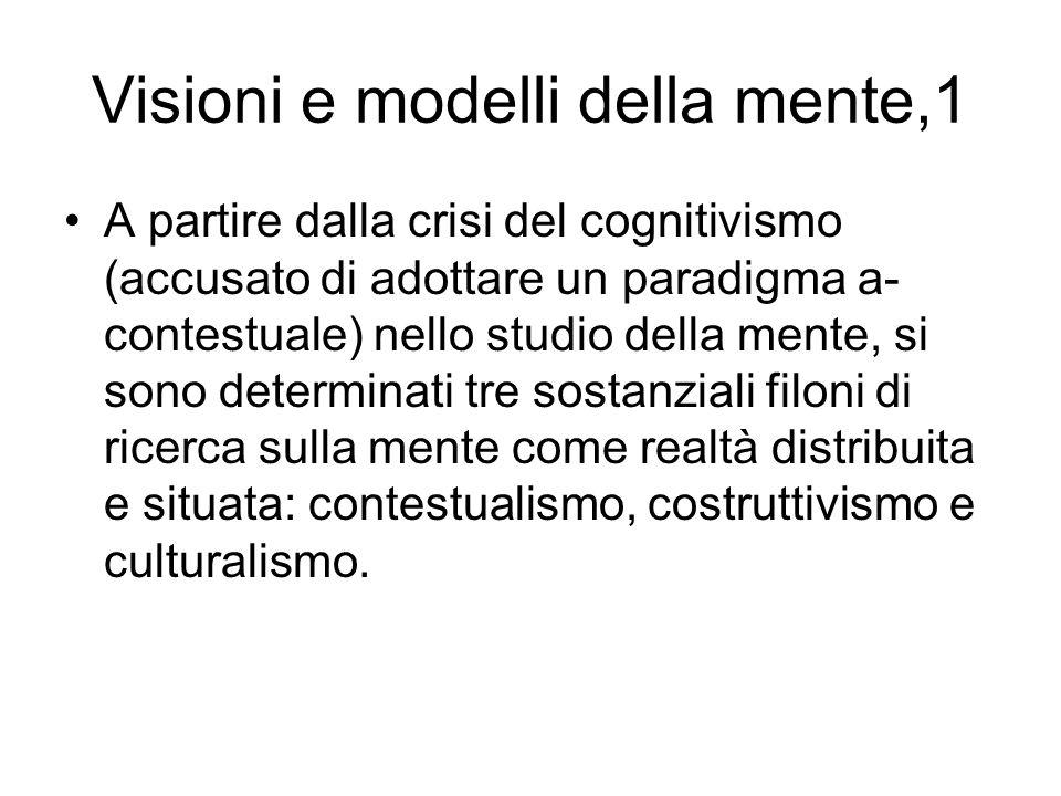 Visioni e modelli della mente,1