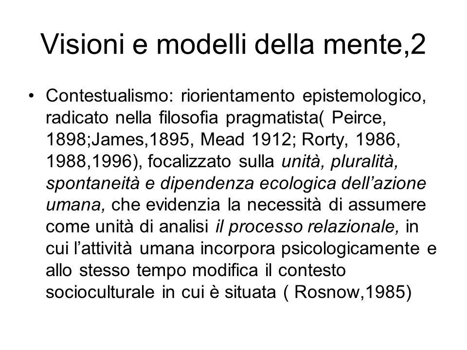 Visioni e modelli della mente,2