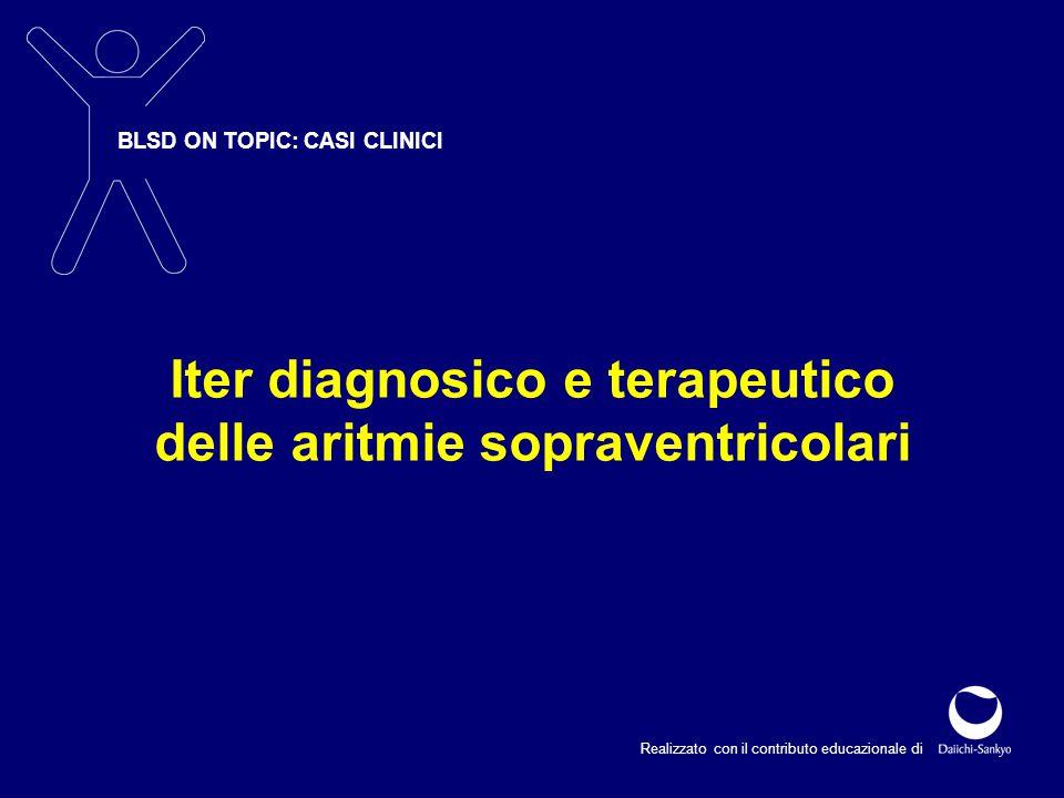 Iter diagnosico e terapeutico delle aritmie sopraventricolari
