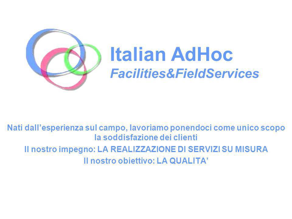 Italian AdHoc Facilities&FieldServices