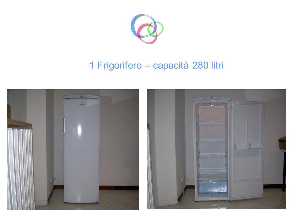 1 Frigorifero – capacità 280 litri