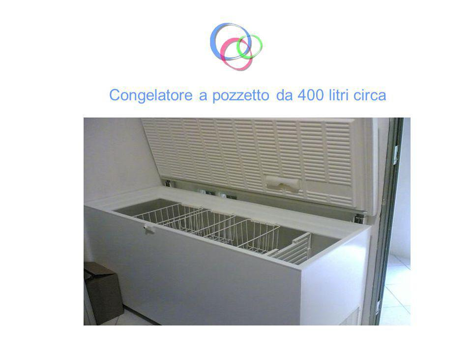 Congelatore a pozzetto da 400 litri circa