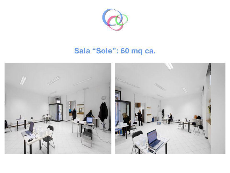 Sala Sole : 60 mq ca.