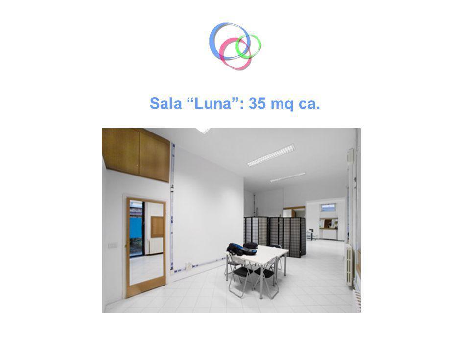 Sala Luna : 35 mq ca.