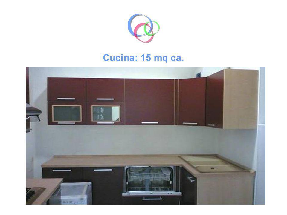 Cucina: 15 mq ca.