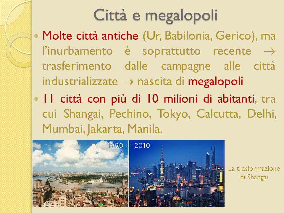 Città e megalopoli