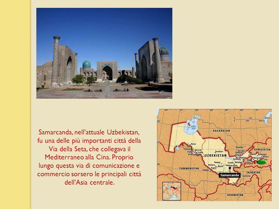 Samarcanda, nell'attuale Uzbekistan,