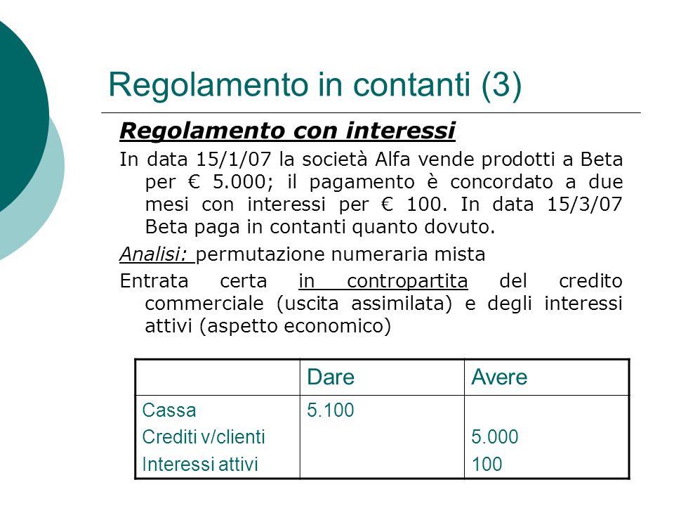 Regolamento in contanti (3)
