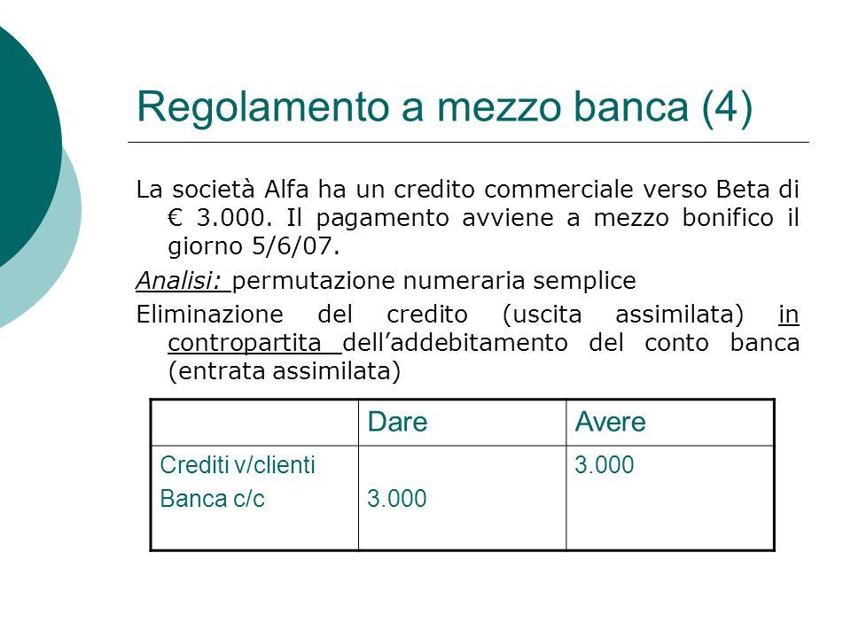 Regolamento a mezzo banca (4)