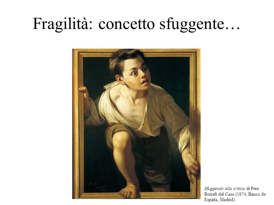 Fragilità: concetto sfuggente…