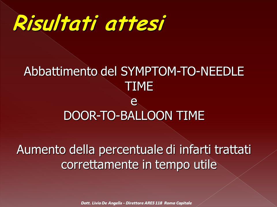 Dott. Livio De Angelis - Direttore ARES 118 Roma Capitale