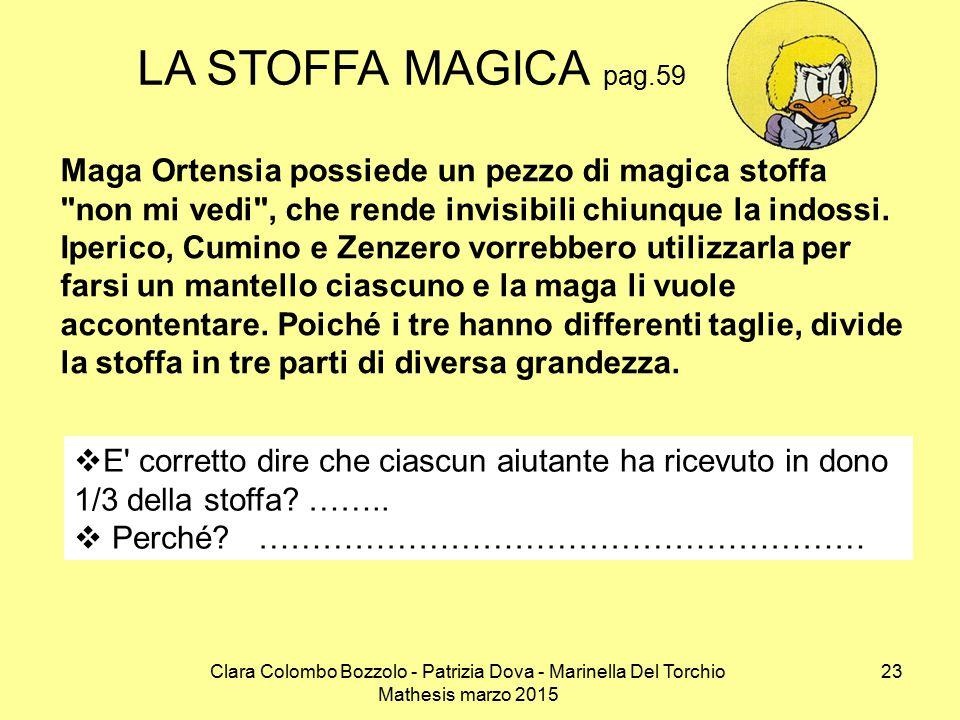 LA STOFFA MAGICA pag.59