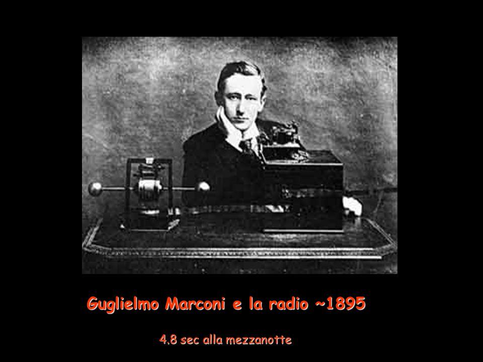 Guglielmo Marconi e la radio ~1895