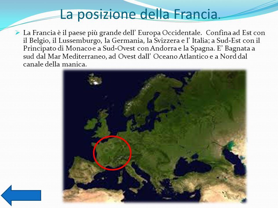 La posizione della Francia.