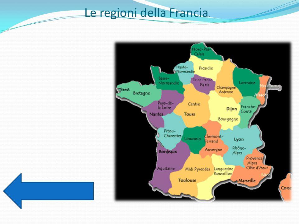 Le regioni della Francia.