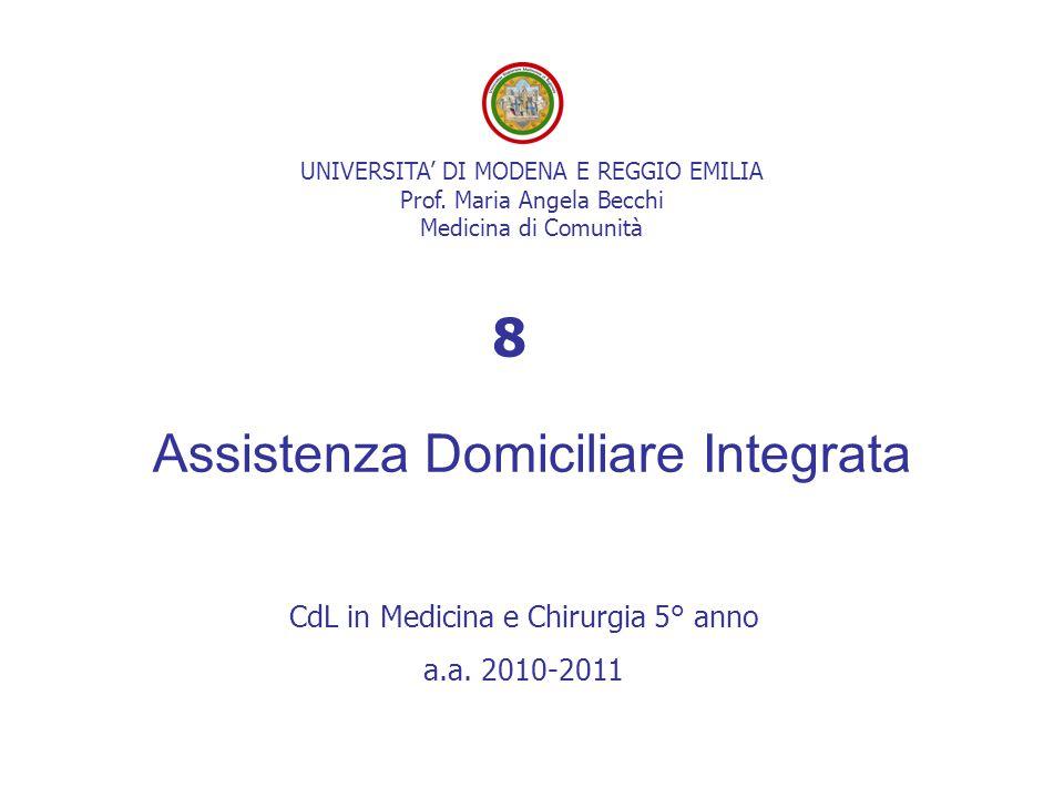 Assistenza Domiciliare Integrata