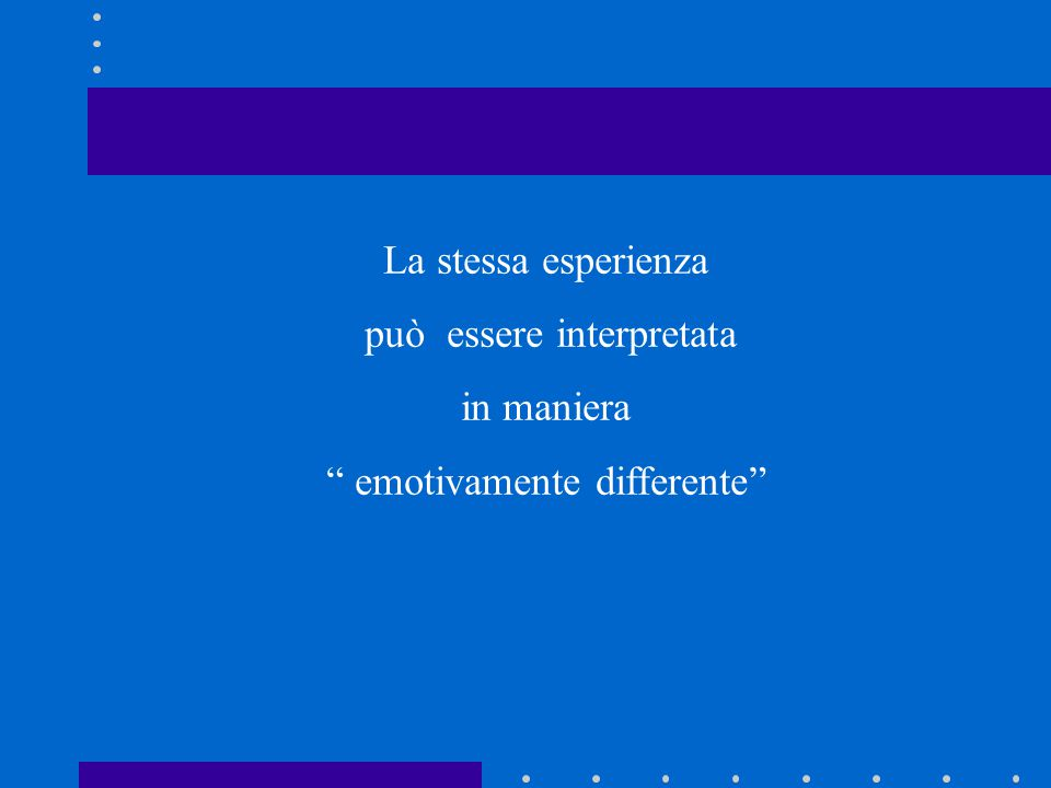 può essere interpretata in maniera emotivamente differente