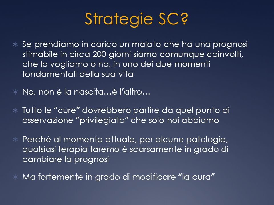Strategie SC