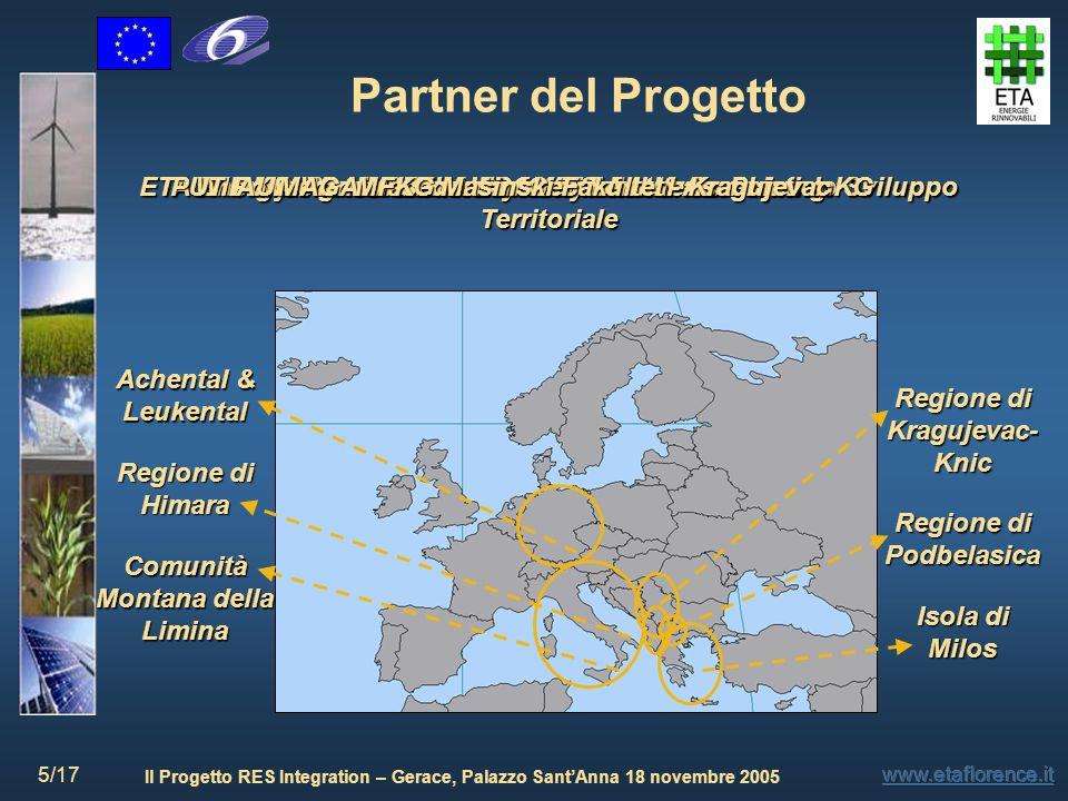 Partner del Progetto ETA Energie Rinnovabili – PSCLAST Laboratorio per lo Sviluppo Territoriale. PUT Polytechnic University of Tirana.