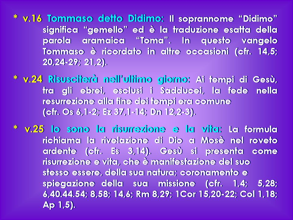 v. 16 Tommaso detto Didimo: Il soprannome Didimo