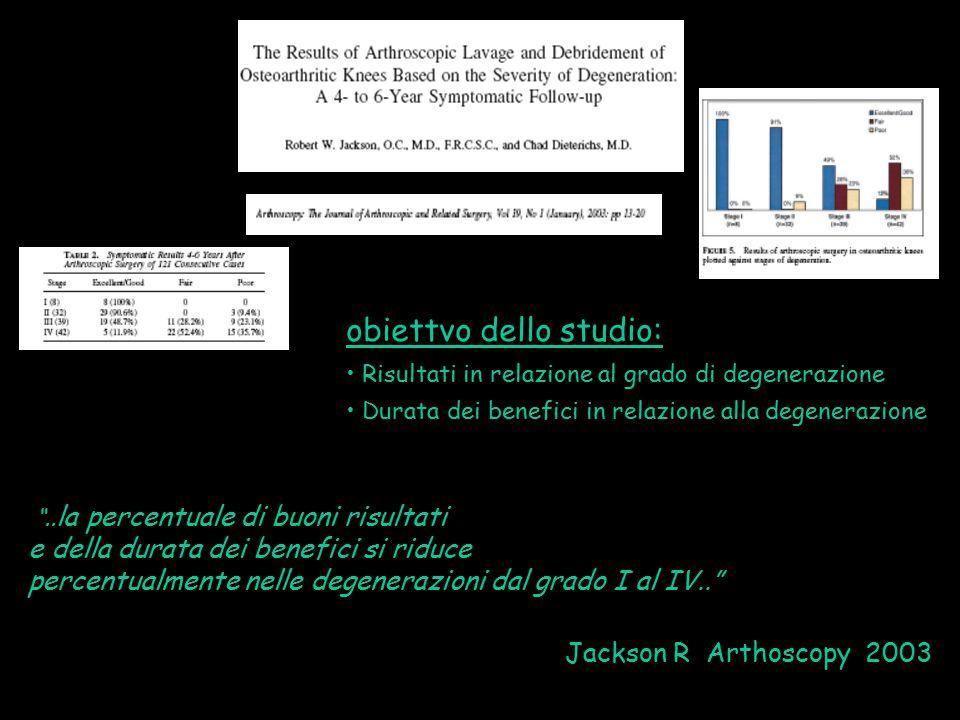 obiettvo dello studio: