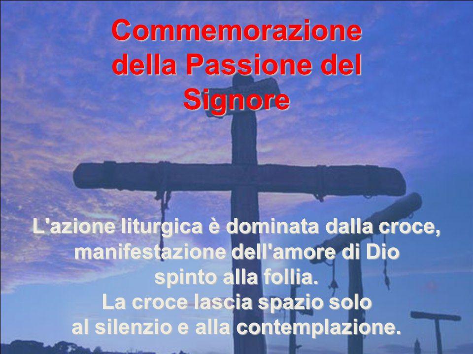 Commemorazione della Passione del Signore