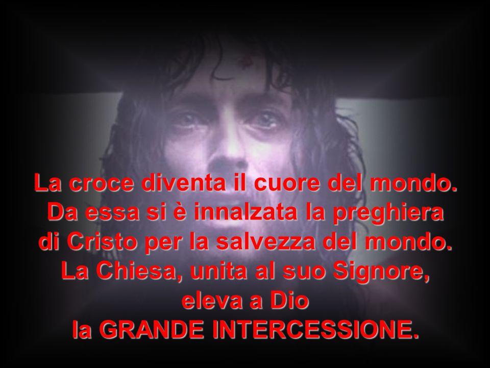 La croce diventa il cuore del mondo