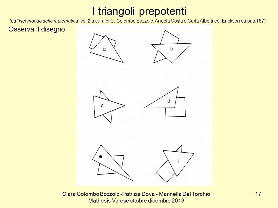 I triangoli prepotenti