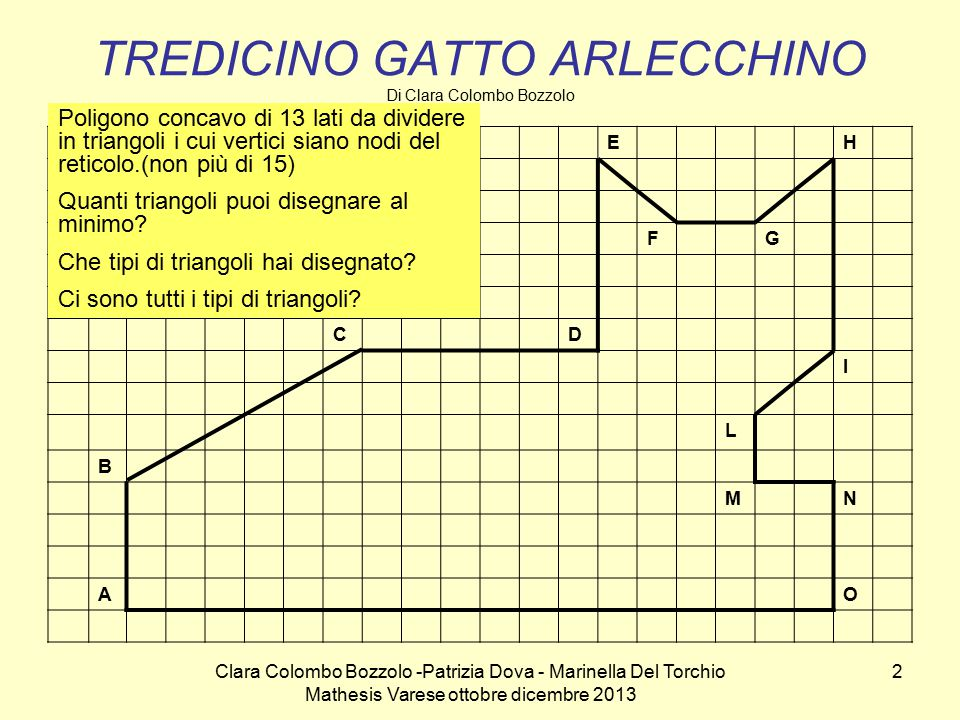 TREDICINO GATTO ARLECCHINO Di Clara Colombo Bozzolo