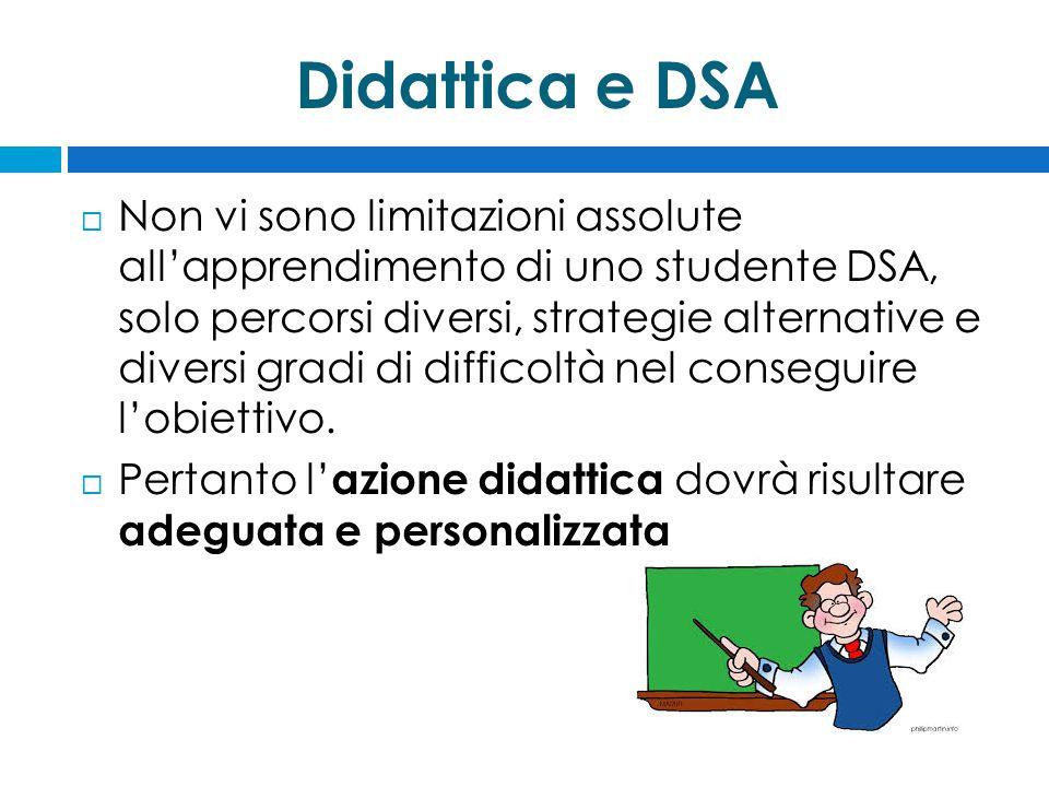 Didattica e DSA