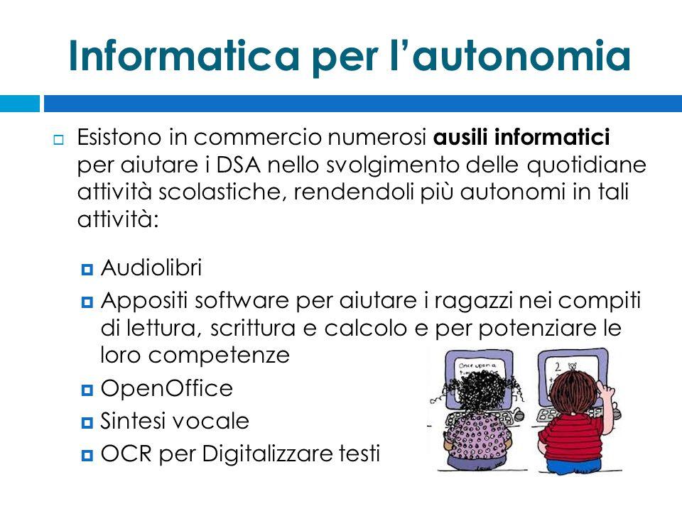 Informatica per l'autonomia