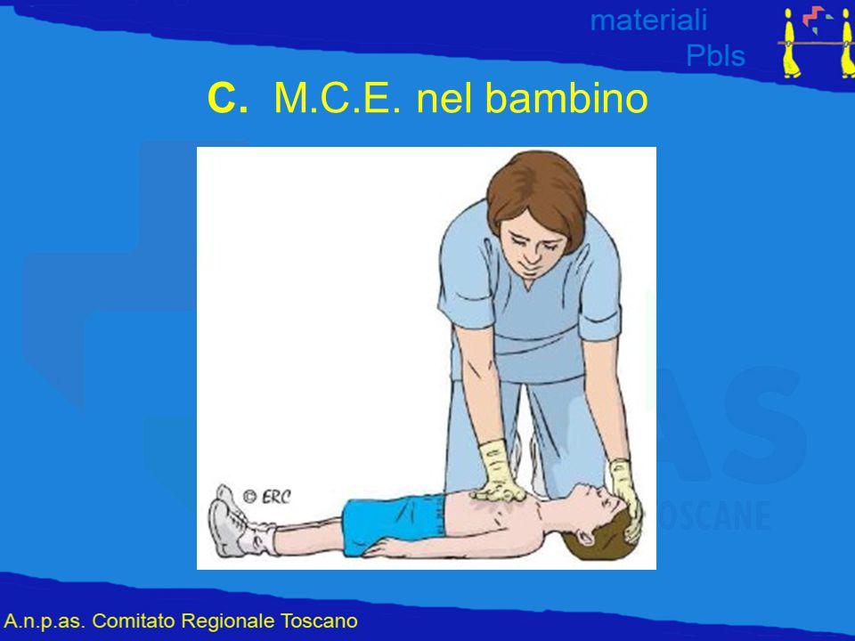 C. M.C.E. nel bambino