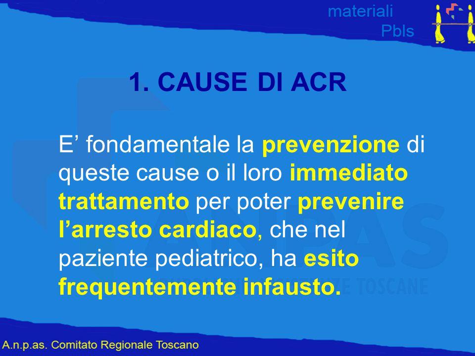 1. CAUSE DI ACR